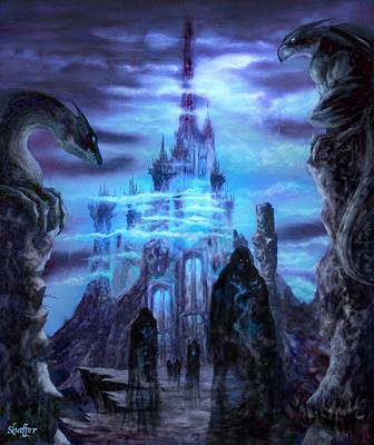 Tolkien Mixed Media - Thangorodrim by Curtiss Shaffer