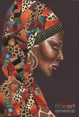 Thank You Angela Original by Alga Washington