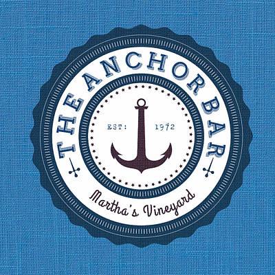 That Anchor Bar Martha's Vineyard Print by Brandi Fitzgerald