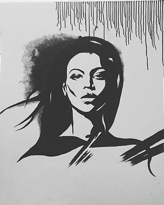 That Girl Print by Farzana Matin