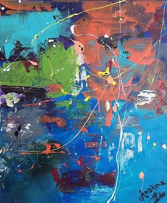 'that Lightbulb Moment' Original by Mahlia Amatina