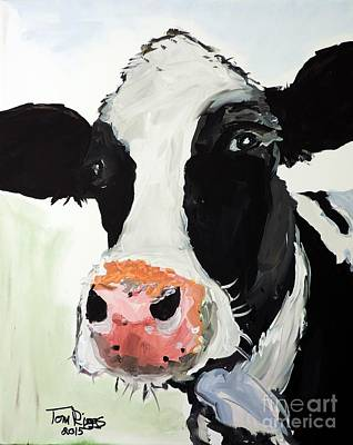 Hamburger Painting - That Look That Says... by Tom Riggs