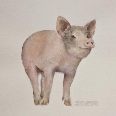 That's Some Pig Print by Teresa Silvestri