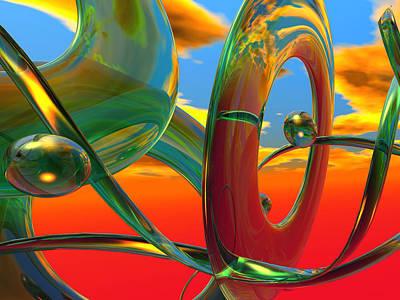 Pier Digital Art - THC by Scott Piers