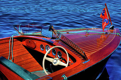 Cri Photograph - The 1958 Chris Craft by David Patterson
