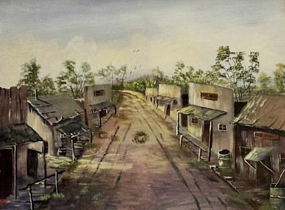 Abandoned Street  Print by Bryan Benson