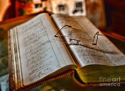 Idea Photograph - The Accountant's Ledger by Paul Ward