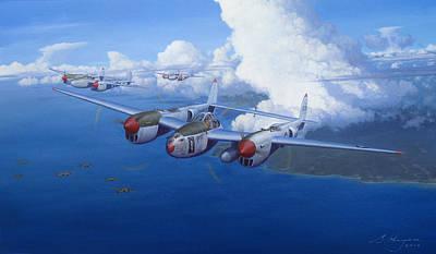 Thunderbolt Painting - The Ace by Steven Heyen