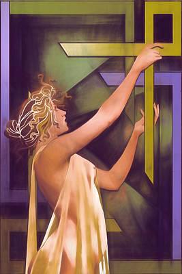 The Age Of Art Deco Print by John Haldane