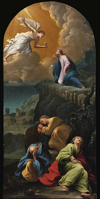 Painting - The Agony In The Garden by Carlo Saraceni