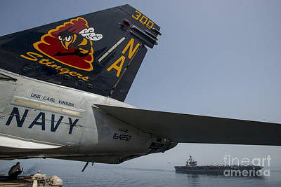 Uss Michael Murphy Print by Celestial Images