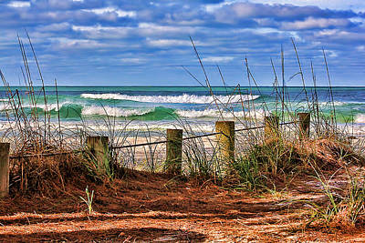 Morning Photograph - The Allure Of The Gulf By H H Photography Of Florida by HH Photography of Florida