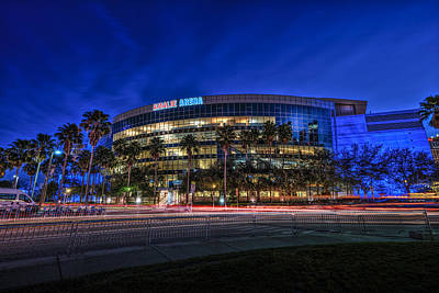 The Amalie Arena Print by Marvin Spates