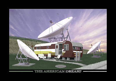The American Dream Print by Mike McGlothlen