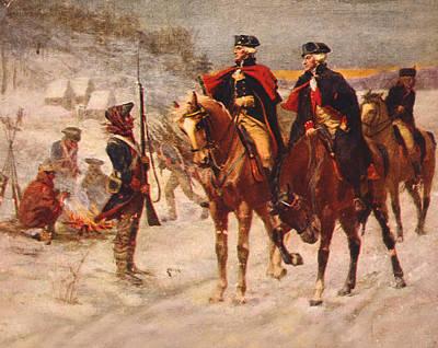 George Washington Photograph - The American Revolution, Washington by Everett