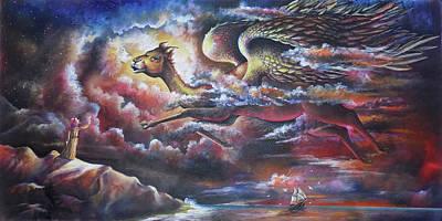 The Angel Of Arabian Desert - The Camel Original by Arun Sivaprasad