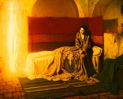 African-american Painting - The Annunciation by Henry Ossawa Tanner
