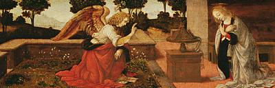 The Annunciation Print by Lorenzo di Credi