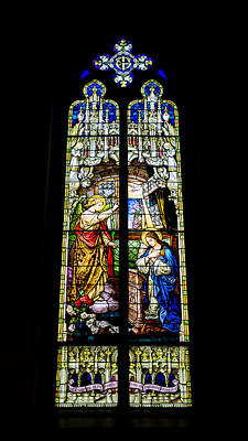 The Annunciation - St Mary's Church Print by Stephen Stookey