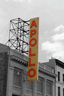 Apollo Theater Photograph - The Apollo In Harlem by Danny Thomas
