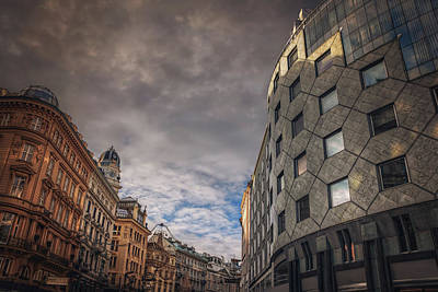 The Architecture Of Vienna  Print by Carol Japp