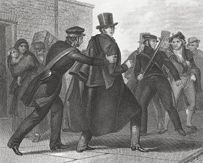 The Arrest Of Smith O Brien In 1848 Print by Vintage Design Pics