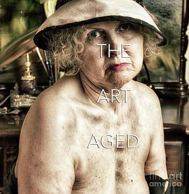 Senior Digital Art - The Art Aged  - Forget-me-not  by Steven Digman