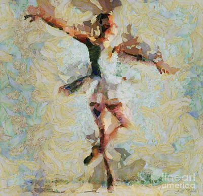 The Art Of Ballet Chooses The Dancer Print by Sir Josef - Social Critic - ART