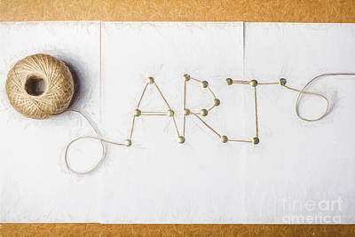 String Art Photograph - The Art Of Fashion Design by Jorgo Photography - Wall Art Gallery