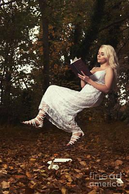 Floating Girl Photograph - The Art Of Levitation Book by Amanda Elwell