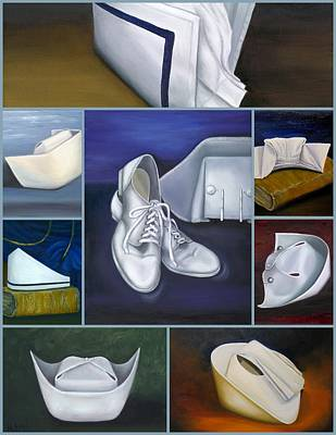 University School Painting - The Art Of Nursing by Marlyn Boyd