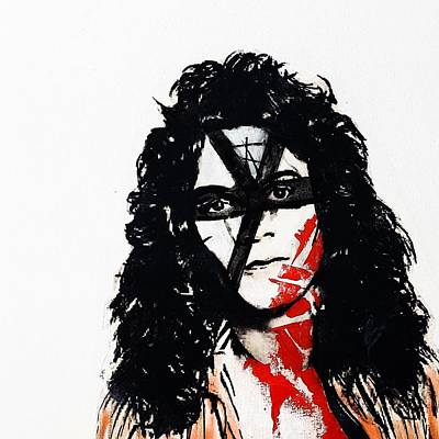 Van Halen Painting - The Atomic Punk by Eric Moore