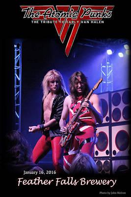 Van Halen Photograph - The Atomic Punks by John Melton