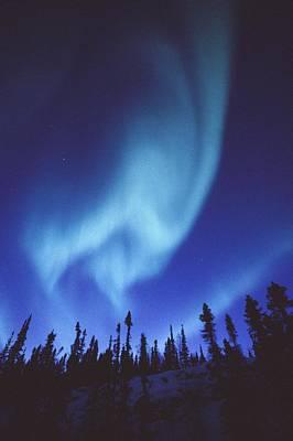 The Aurora Borealis Creates Fantastic Print by Paul Nicklen