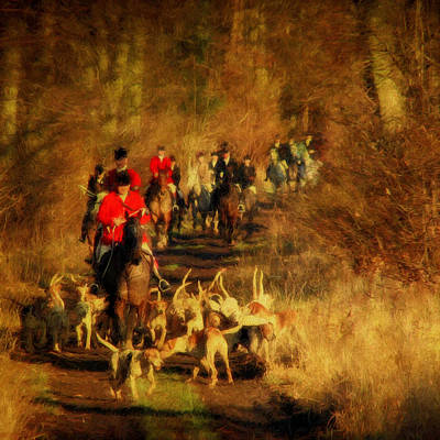 The Autumn Hunt Print by ShabbyChic fine art Photography
