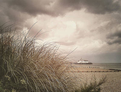 Turbulent Skies Photograph - The Back Of Beyond  by Connie Handscomb