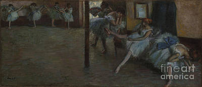 Ballet Painting - The Ballet Rehearsal by MotionAge Designs