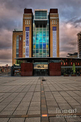 Quayside Photograph - The Baltic by Stephen Smith