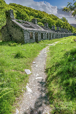 Dilapidated Photograph - The Barracks by Adrian Evans