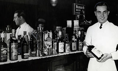 The Bartender Is Back - Prohibition Ends Dec 1933 Print by Daniel Hagerman