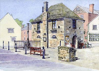 Renovation Painting - The Bartholomew Rooms At Eynsham by Mike Lester