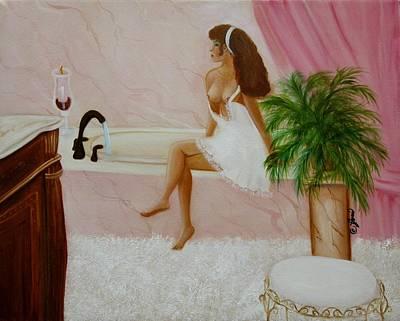 The Bath Print by Joni McPherson