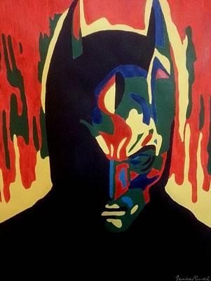 Batman Painting - The Batman by Jenae Rusch