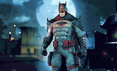 The Batman Poster Print by Egor Vysockiy