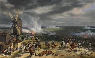 The Battle Of Valmy Print by Celestial Images