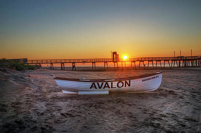 Photograph - The Beach At Avalon 32nd Street by Bill Cannon