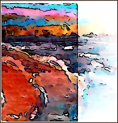 Rollingstone Painting - The Beach by Gregory McLaughlin
