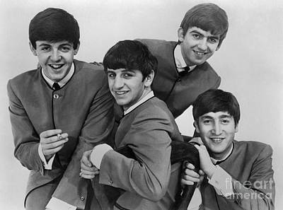 Drummer Photograph - The Beatles, 1963 by Granger