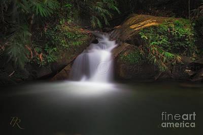 Pete Reynolds Photograph - The Beautiful Chong Fa Waterfall. by Pete Reynolds