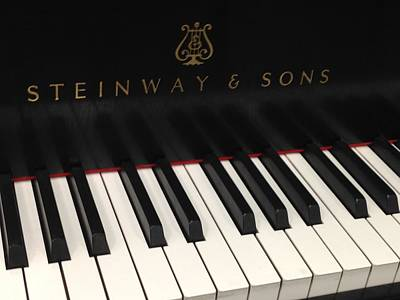 The Beauty Of A Steinway Piano Print by Maria Malayter